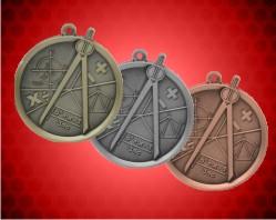 2 1/4 inch Math Mega Medals