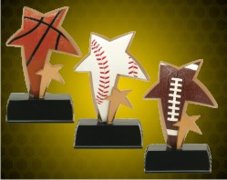 Color Sport Star Resin