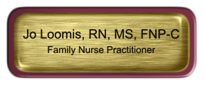 Metal Name Tag: Brushed Gold with Epoxy and Burgundy Metal Border