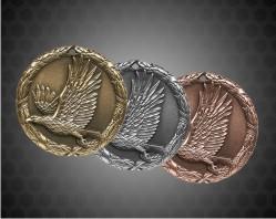 1 1/4 inch Eagle XR Medal