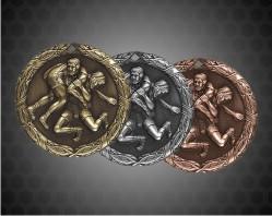 1 1/4 Inch Wrestling XR Medal