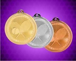 2 Inch Tennis Laserable Britelaser Medals
