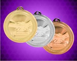 2 Inch Sportsmanship Laserable Britelaser Medals