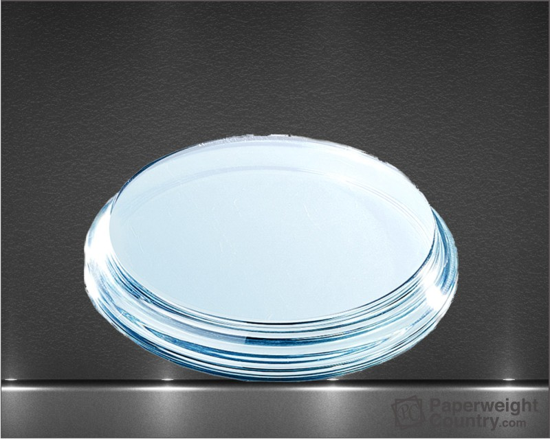 3/4 x 4 x 4 Inch Round Curved Edge Base