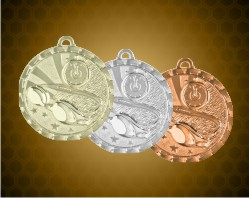 2 inch Swimming Bright Medals