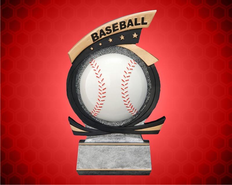 Baseball Gold Star Resin