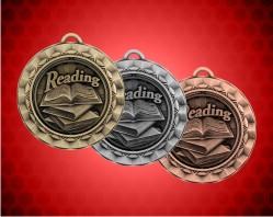 2 5/16 Inch Reading Spinner Medal