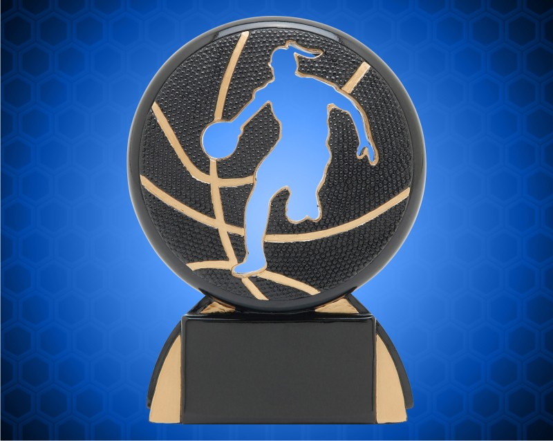 "5 1/4"" Female Basketball Shadow Sport Resin"