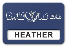 Reusable Smooth Plastic Windowed Name Tag: Patriot Blue with White - LM922-552