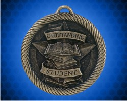 2 inch Outstanding Student Value Medal