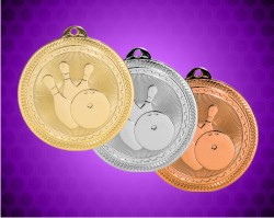 2 Inch Bowling Laserable Britelaser Medals