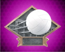 Volleyball Diamond Resin