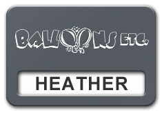 Reusable Smooth Plastic Windowed Name Tag: China Blue with White - LM922-382