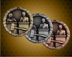 2 inch Debate XR Medal