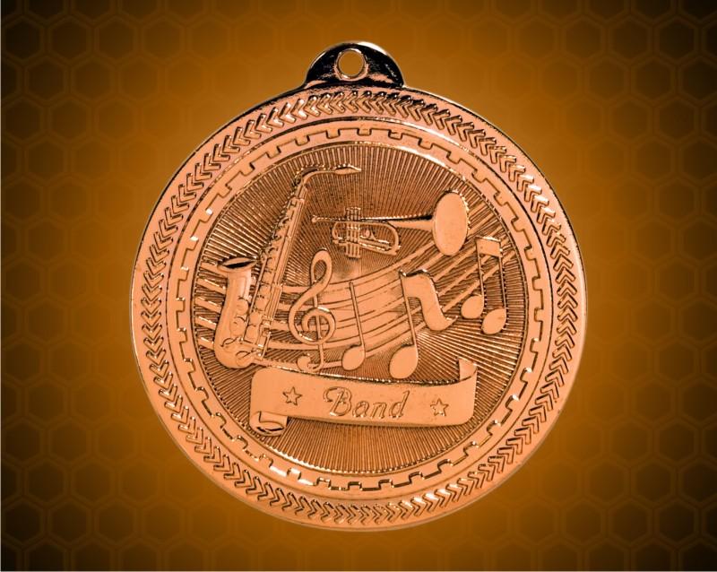 2 inch Bronze Band Laserable BriteLazer Medal