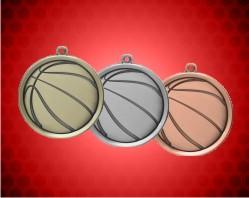 2 1/4 inch Basketball Mega Medals