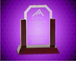 Jade Clip Corner Glass Award
