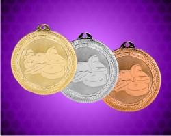2 Inch Weightlifting Laserable Britelazer Medals