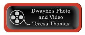 Metal Name Tag: Black and Silver with Epoxy and Red Metal Border